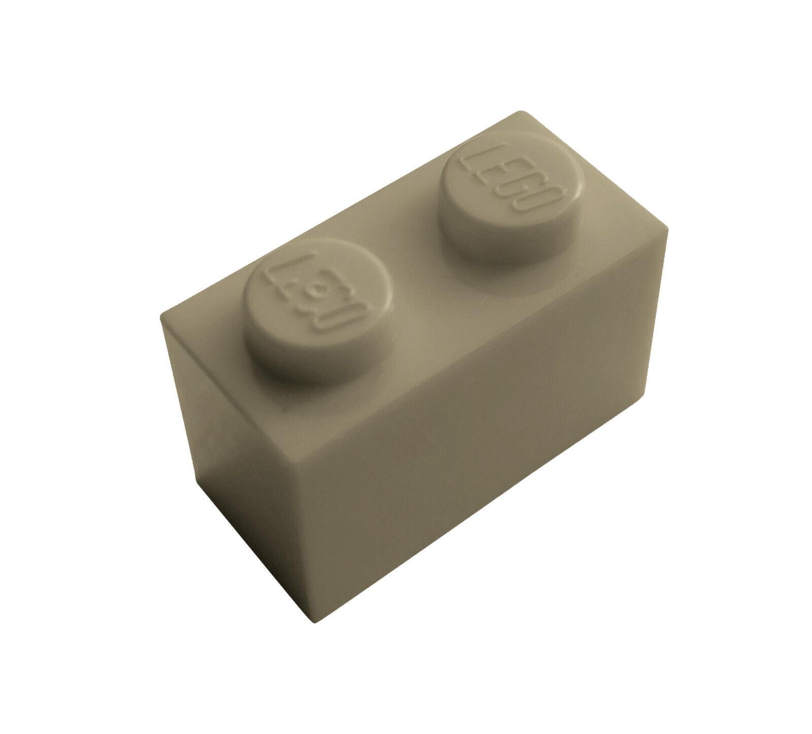 tan 50 Stück Lego Stein beige Neu** 3004,1x2
