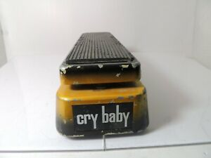 Dunlop Limited Edition Sunburst GCB95 TB Crybaby Wah Effects Pedal Free USA Ship