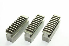 3 Soft Jaws for Lathe Scroll Chuck Length 68mm, Width 18mm, Height 35.5mm (824)