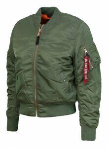 Alpha-Industries-Men-039-s-Flight-Jacket-MA-1-VF-Sage-Green