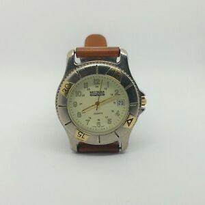 2eaa7582f50 Brittania By Levi Strauss Co. Mens Watch Nylon Leather Strap