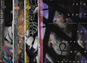 Details about SKIN GRAFT ADVENTURES OF A TATTOOED MAN 1,4 SET (NM,) DC  VERTIGO SERIES