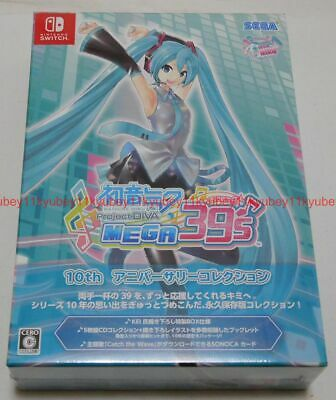 anime Hatsune Miku figure Project DIVA MEGA39/'s DIVA 10th Anniversary SEGA
