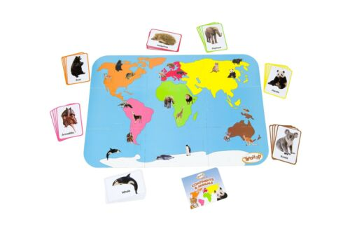 Teach My Continents and Animals
