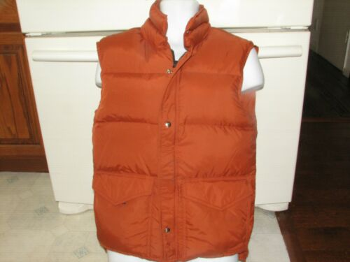Frostline Denver vest jacket puffy down feathers v