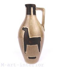 Modernist 60er HORSE Vase Schlossberg Keramik Mid-Century German Pottery 1960s