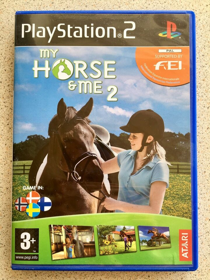 My horse & Me 2, PS2, sport