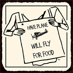 Willflyforfood