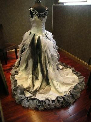 Wedding Dresses With Black Accents collection on eBay!
