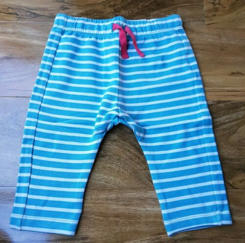 MINI BODEN BABY GIRLS STRIPE COSY COTTON ESSENTIAL JERSEY TROUSERS BRAND NEW