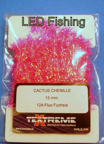 Textreme Cactus Chenille PCC15 Blob Fritz 15mm Fly Tying Material