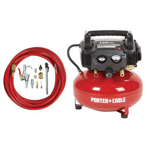 Porter-Cable-6-Gallon-Pancake-Air-Compressor-and-Accessory-Kit-C2002-WK-NEW