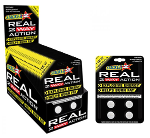 Stacker-REAL-2-Way-Action-Fast-Energy-Diet-Burn-Fat-Weight-Loss-2WAY-Supplement