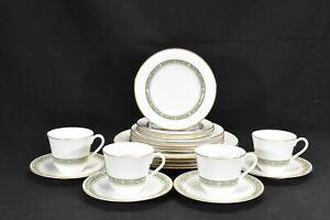 Royal-Doulton-Rondelay-H5004-Set-of-4-Five-Piece-Place-Settings-20-Pieces