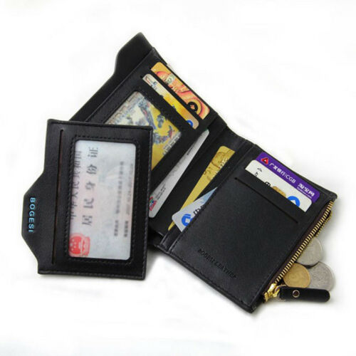 Bogesi Male Cuzdan Small Portfolio Designer Famous Brand Short Men Wallet Coin A