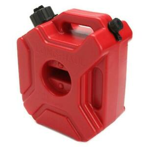 Motorcycle 3L Portable Jerry Can Gas Anti-static Plastic Car Fuel Tank