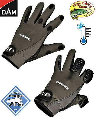 XL Neoprenhandschuhe Thermo Handschuhe Winter DAM CamoVision NEO Gloves Gr