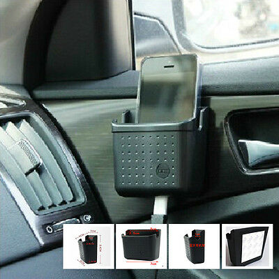 Car SUV Multifunctional Storage Phone Charge Holder Cigarette Pocket Small Box