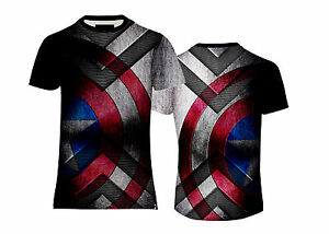 NEW-MENS-SOFT-TOUCH-TEE-CAPTAIN-AMERICA-SHIELD-T-SHIRT-US-UK-FIT-amp-SIZES