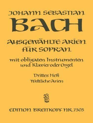 Ausgew_hlte Arien fr Sopran, Gesang, Instrumente u. Klavier