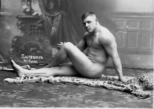 Beautiful Nude soviet russian man vintage photo a6 10x15cm #15