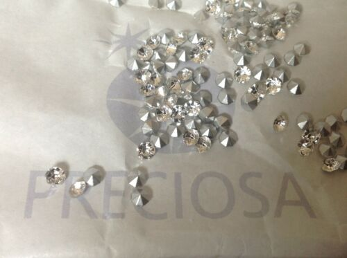 Preciosa Czech Chatons 5ss-17ss Brilliant Crystal SF x60 REPAIR Post Free