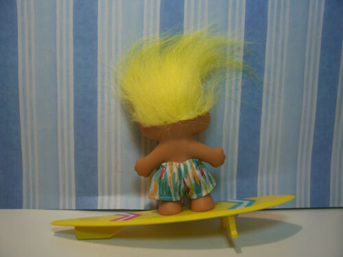 "3/"" Russ Troll Doll SURFER NEW IN ORIGINAL WRAPPER"