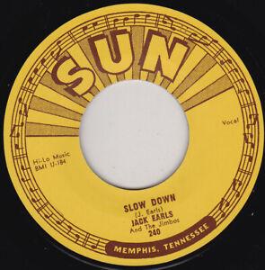 """JACK EARLS - Slow Down  7"""" 45"""