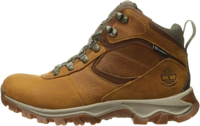 Timberland Earthkeepers(r) Mt. Maddsen Mid Waterproof Men's, Brown, Size 10.5 AG
