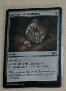 x4-Talisman-of-Resilience-Modern-Horizons-NM-Playset-Magic-the-Gathering