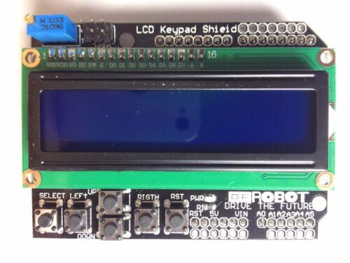 LCD Keypad Shield1602 DisplayHD447806 TastenArduino Schild