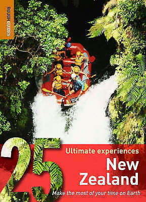 """""""AS NEW"""" New Zealand: 25 Ultimate Experiences (Rough Guide 25), Rough Guides, Bo"""