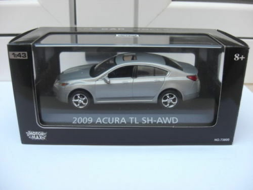 Acura TL SH AWD 2009 super Berlin MOTOR MAX MIB 1 43 honda beautiful MEGA RARE