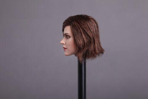 1//6 Female Head Sculpt SHORT HAIR For PHICEN Hot Toys Female Figure USA IN STOCK