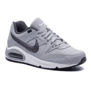 Dettagli su SCARPE NIKE AIR MAX COMMAND sneakers da uomo GRIGIO in pelle 749760 012