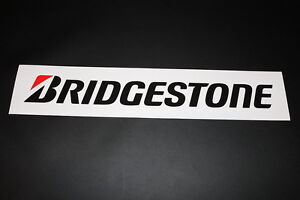 Bridgestone Reifen Tire Pneu Aufkleber Sticker Decal Kleber Schriftzug Logo XXL1