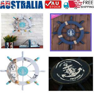 Nautical-Wooden-Ship-Boat-Steering-Wheel-Pirate-Wall-Decor-At-Christmas-Gift-11-034