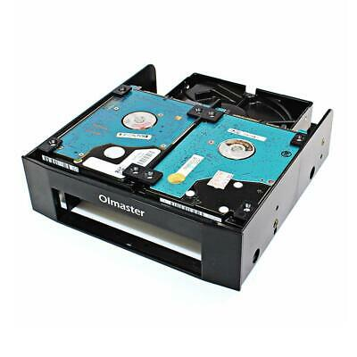 HDD Mounting Bracket 3.5 Inch//2.5inch Hard Drive to 5.25 Inch Front Bay