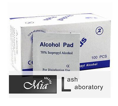 Alcohol Wipe Pad Medical Swab in Sachet Antibacterial Tool Cleanser 100pcs