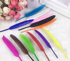 20/100pcs Colroful Natural Goose Feather 4-6 inches Multifunction Wedding Decor