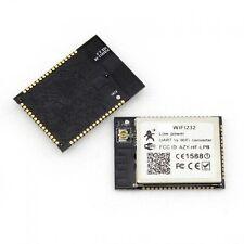 Wireless 802.11b/g/n Serial RS232 UART to WiFi Low Power Converter Module GPIO