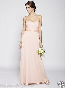 NWT-BHS-Size-12-16-18-JULIET-Blush-Pink-Sequin-Beaded-Long-Bridesmaid-Dress-130