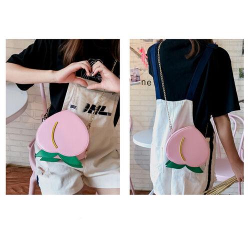 Bag Women Fruit Shoulder Messenger Bags Girls Chain Crossbody Purse Satchel S