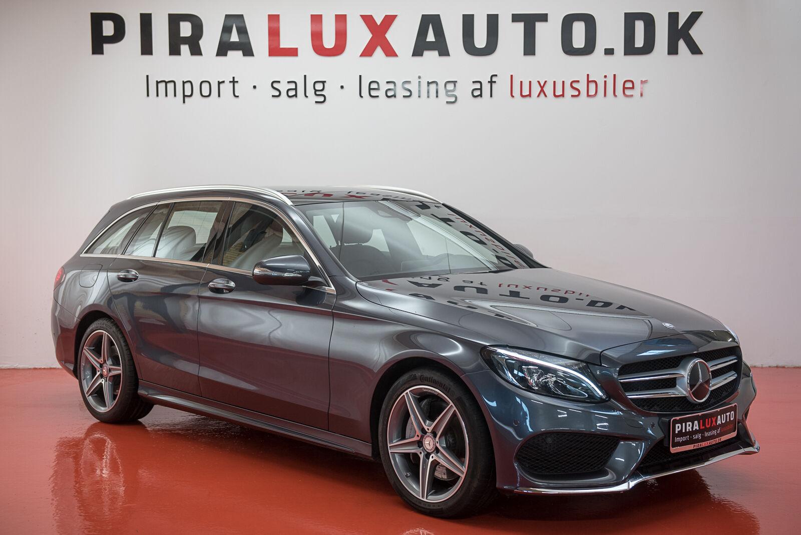 Mercedes C250 2,2 BlueTEC AMG Line stc. aut. 5d - 409.900 kr.