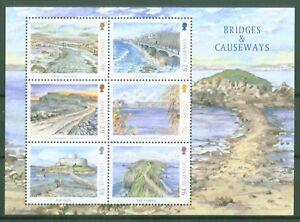 Guernsey-2018-Europa-CEPT-Bruecken-Dammwege-Fort-Gray-Daemme-Block-89-1678-83