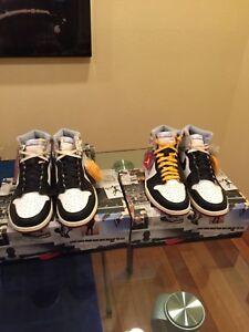 Nike Air Jordan 1 Retro High NRG UNION Black Toe Sz. 10.5 IN HAND  7c114cb6e
