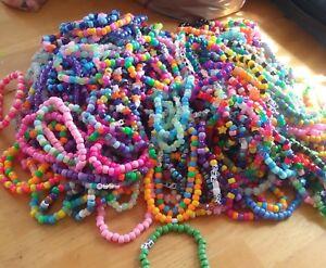 Image Is Loading 40 Mystery Kandi Bracelet Singles Edm Escape Edc