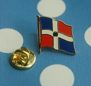 Dominikanische-Republik-Pin-Button-Badge-Anstecker-Sticker-Anstecknadel-AK
