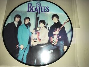 Gem-mint-Stunning-45-7-THE-BEATLES-UK-20th-ANNIVERSARY-PICTURE-DISC-yes-it-is