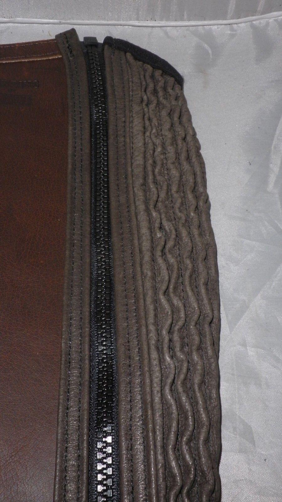Gibbins By Regent Milton Braun Leder Half -X Chaps -X Half Small Calf -X Long Leg ca0bb5